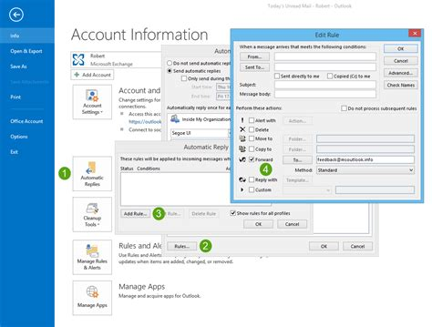 Office 365 Mail Auto Reply by Out Of Office Rule Doesn T Auto Forward My Mail
