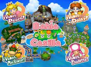 [Mario Party 6] Peach, Daisy, Mini Bowser y Toadette en ...