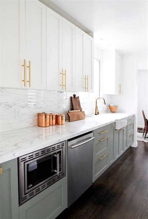Stunning Kitchen Designs With Twotoned Cabinets