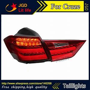 Car Styling Tail Lights For Cruze 2015 2016 Taillights Led