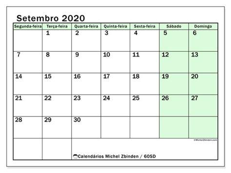 calendarios setembro sd michel zbinden pt