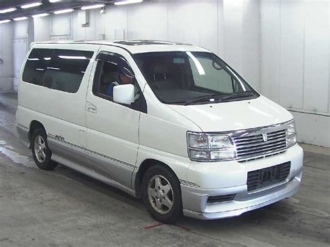 Nissan Elgrand Hd Picture by 2000 Nissan Elgrand E50 Pictures Information And