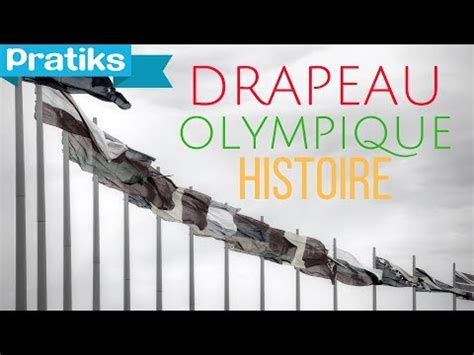 Jeux Olympiques : L'histoire du drapeau olympique - YouTube