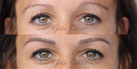avantapres sourcils maquillage permanent microblading