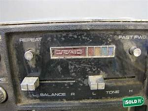 Vintage Craig Powerplay Model   3141 Floor Mount 8 Track