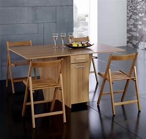 Charmant table salle manger pliante ikea collection avec for Deco cuisine pour table et chaise