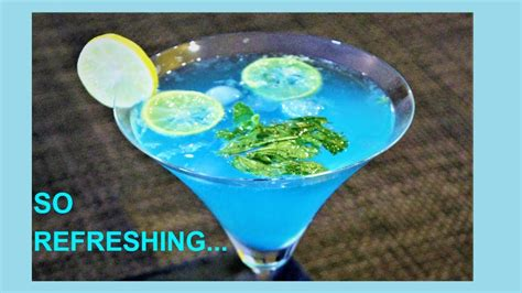 Instant Blue Lagoon Mocktail Recipe Summer Drink Non