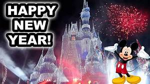 NEW YEARS AT DISNEY WORLD!!! (AMAZING) - YouTube