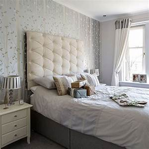 Romantic soft grey and white bedroom   Decorating ...