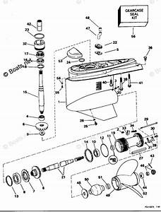 Omc Sterndrive Parts 5 0 Liter Oem Parts Diagram For Lower