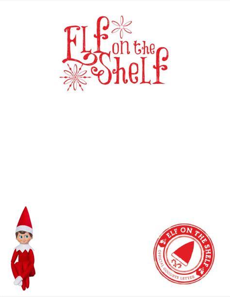 blank elf letter  elf picture elf   shelf