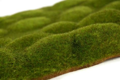 decorate your office with this artificial green moss sheet