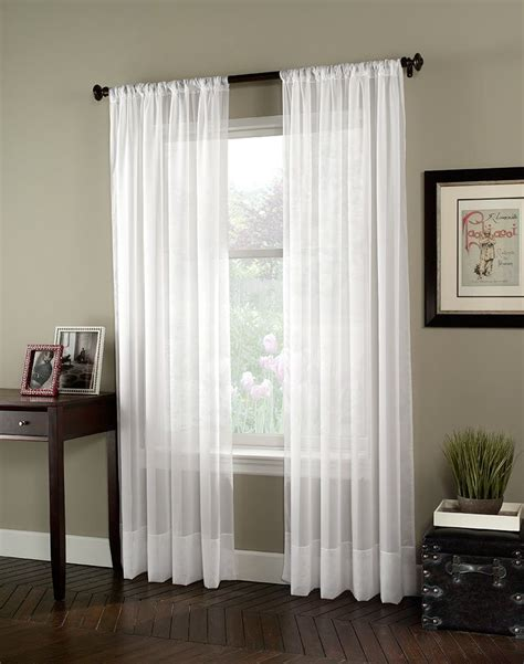 Curtain Panels by Our Living Room Curtains Soho Voile Lightweight Sheer
