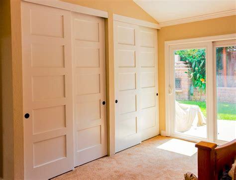 panel sliding closet doors home design ideas