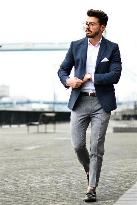 Best 25+ Grey blazer mens ideas on Pinterest | Blazer for men fashion Grey smart casual dresses ...