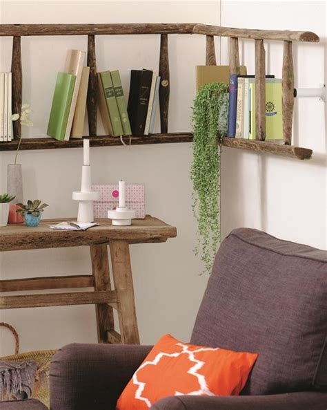 wall shelves ideas diy ladder shelf ideas easy ways to reuse an ladder Diy