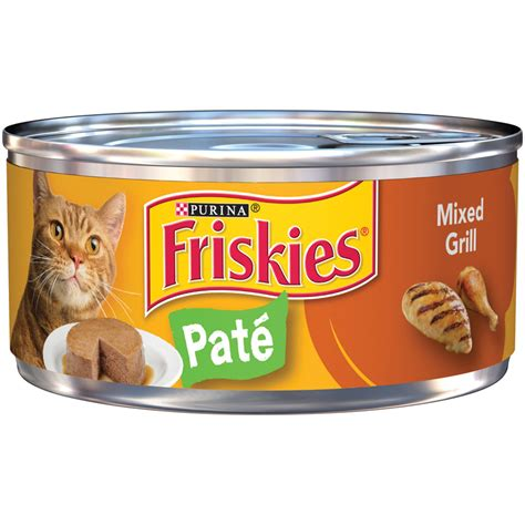 Friskies Classic Pate Canned Cat Food, Mixed Grill Petco