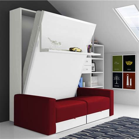 lit escamotable canape tab secret de chambre