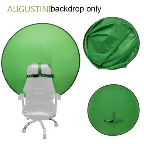 Augustine แผงฉากหลังโพลีเอสเตอร์สีเขียวพับได้ขนาด 142 ซม. ...