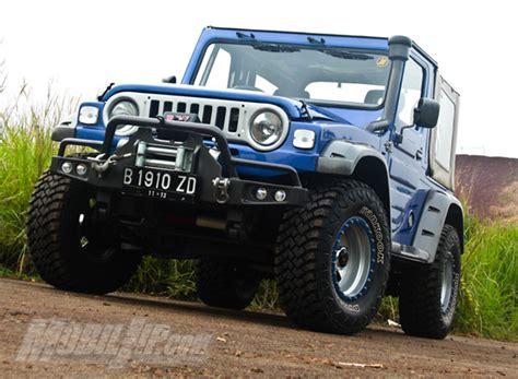 mobil jeep lama sejarah mobil jimmny modifikasi jeep kebo menjadi rubicon