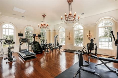 Fitnessraum Zu Hause Luxus by A Look At 12 Luxury Home Gyms Homes Of The Rich The 1