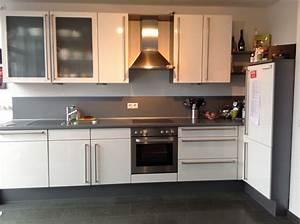 Hochglanz Weiß Küche : sch ne nobilia k che hochglanz wei gebrauchte k chen ~ Michelbontemps.com Haus und Dekorationen