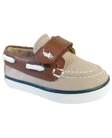 Toddler Boat Shoes by Ralph Toddler Boys Sander Cl Ez Boat Shoes