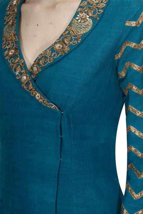 latest  stylish neck designs  girls dresses sari info