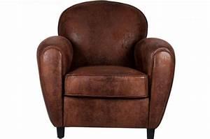 Fauteuil Club Pas Cher : fauteuil club choco vintage pas cher achat canap ou fauteuil club ~ Teatrodelosmanantiales.com Idées de Décoration