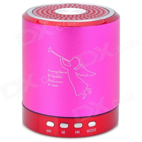 Portable Mini Speaker T2020 by T 2020 Portable Mini Rechargeable 2 Ch Media Player