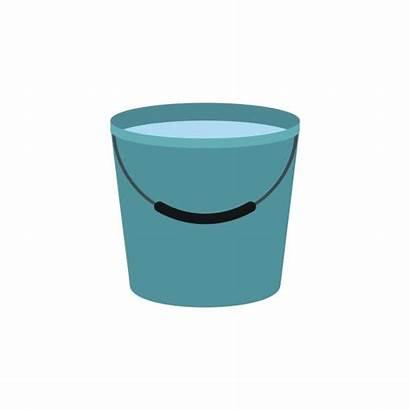 Bucket Water Icon Clip Illustrations Similar