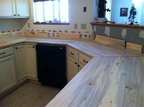 beetle kill pine kitchen countertops  mike