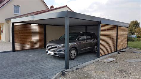 Garage Mit Carport Und Abstellraum Kjosycom