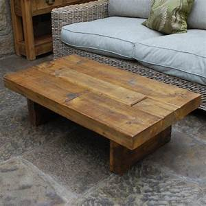 chunky wood tv table coffee occasional tables With wood chunk coffee table