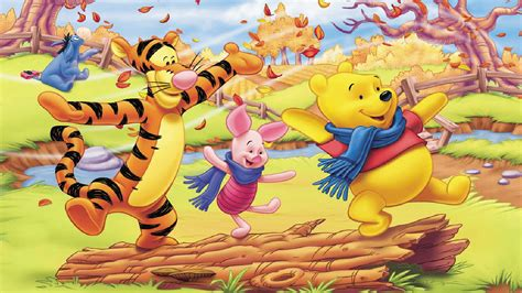 winnie  pooh  friends autumn pictures cartoon hd