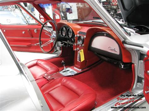 silver pearl red interior