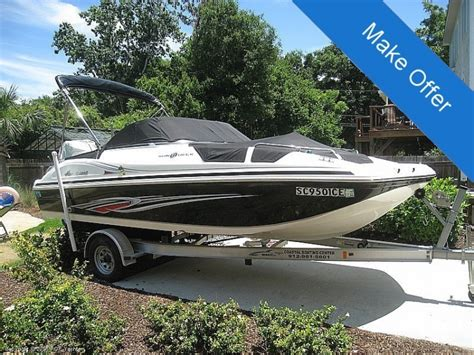 Deck Boats For Sale In Charleston Sc by 2011 Hurricane 187 Deck Boat Charleston Sc For Sale 29412