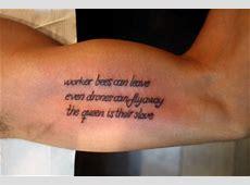 Tattoo de una frase en el brazo Tatuajes de Frases