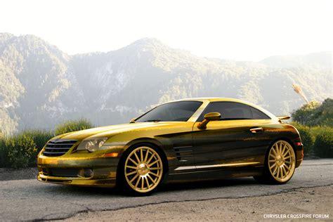 Custom Chrysler Crossfire by Chrysler Crossfire Golden Camo Look Crossfireforum