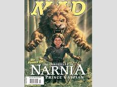 MAD #491 Chronicles of Narnia Prince Caspian Issue
