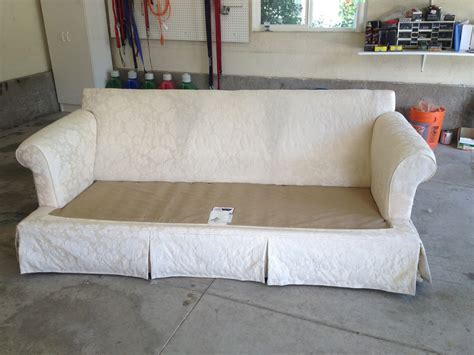 How To Make A Slipcover For A Loveseat by The Sewing Slipcovers Slipcover