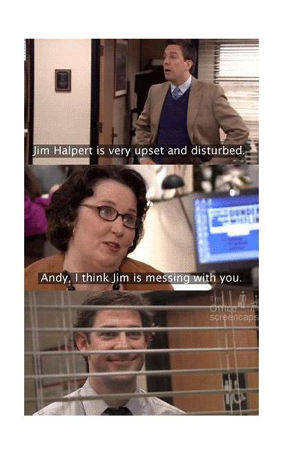Office Jim Pam Andy Memes Funny Quotes