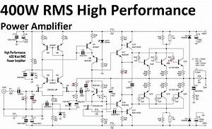 High Performance Power Amplifier 400 Watt