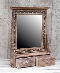 Spiegelschrank Shabby Chic : wundersch ner wandschrank h ngeschrank k chenschrank spiegelschrank badspiegel spiegel wandregal ~ Sanjose-hotels-ca.com Haus und Dekorationen