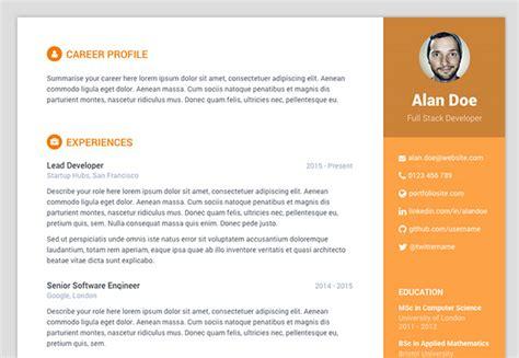 github resume template github deedy deedy resume a one