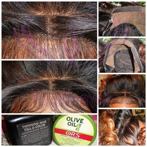 conceal  closure edges hair styles lace wigs