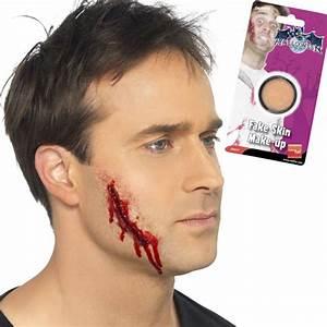 Maquillage Pirate Halloween : maquillage pirate sang fausse cicatrice impact de ~ Nature-et-papiers.com Idées de Décoration