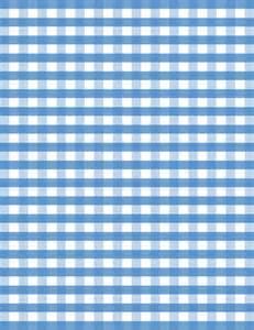Blue Gingham Check Pattern