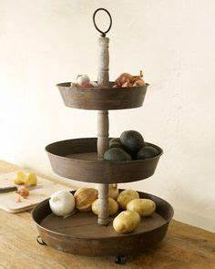 wood 2 tier tray we love this piece check it out online With what kind of paint to use on kitchen cabinets for three candle holders