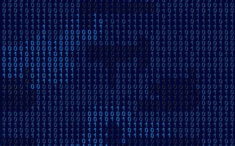 Download wallpapers digital blue texture units and zeros